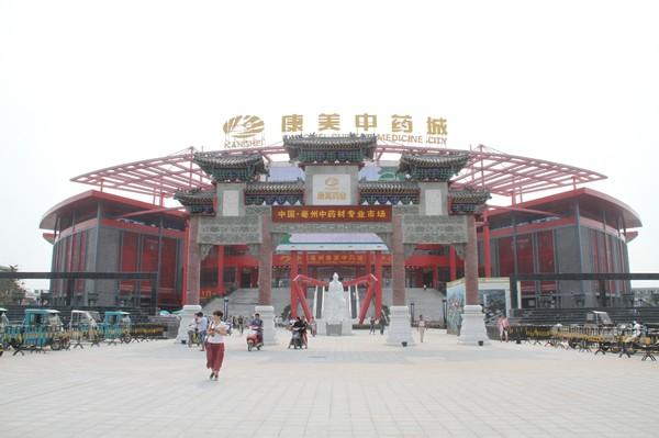 2013年亳州康美中药城