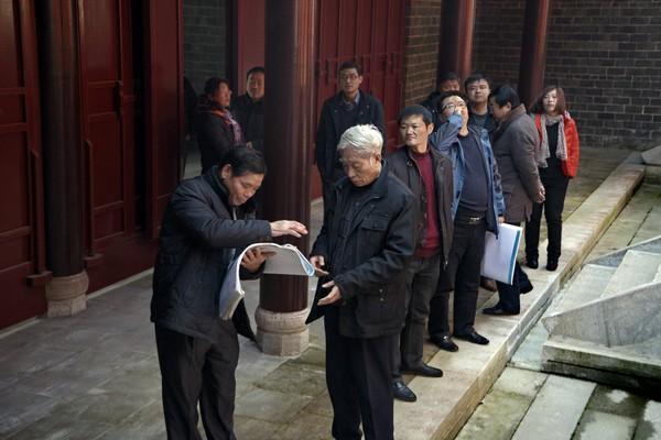 刘邓大军刘家畈高干会议旧址维修保护工程通过验收