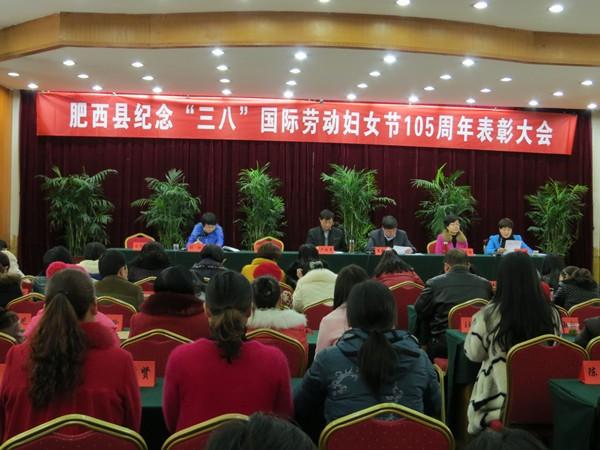 肥西县44位优秀女性受表彰