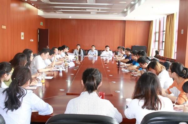 肥西县召开2015年择优选聘大学生村官驻村见习见面会