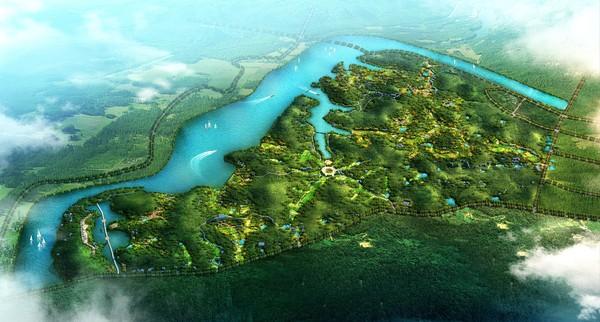 金寨县大别山生态谷景观设计方案批后公示