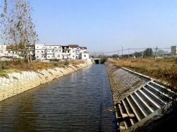 黑河中渠排洪沟
