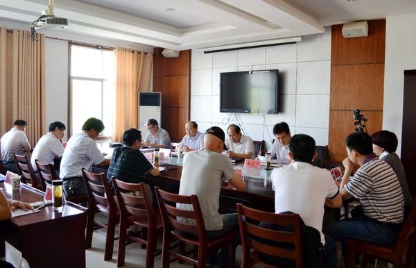 太湖县人大主任张达华调研农业产业化