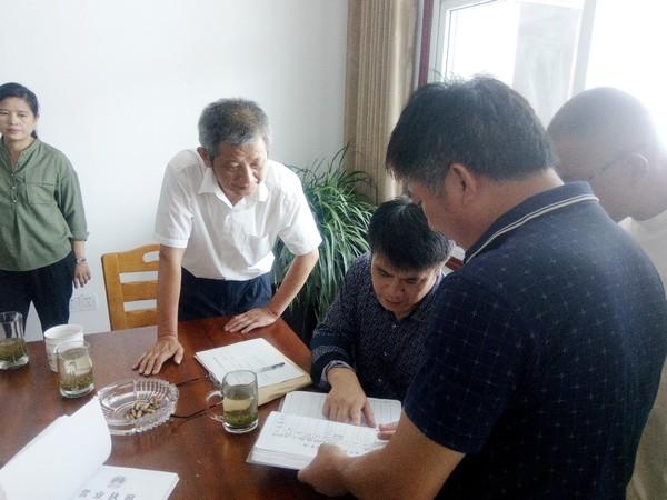 江塘乡农产品质量安全工作迎国考
