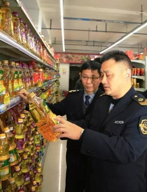 县市场监督管理局新城食药监所组织...