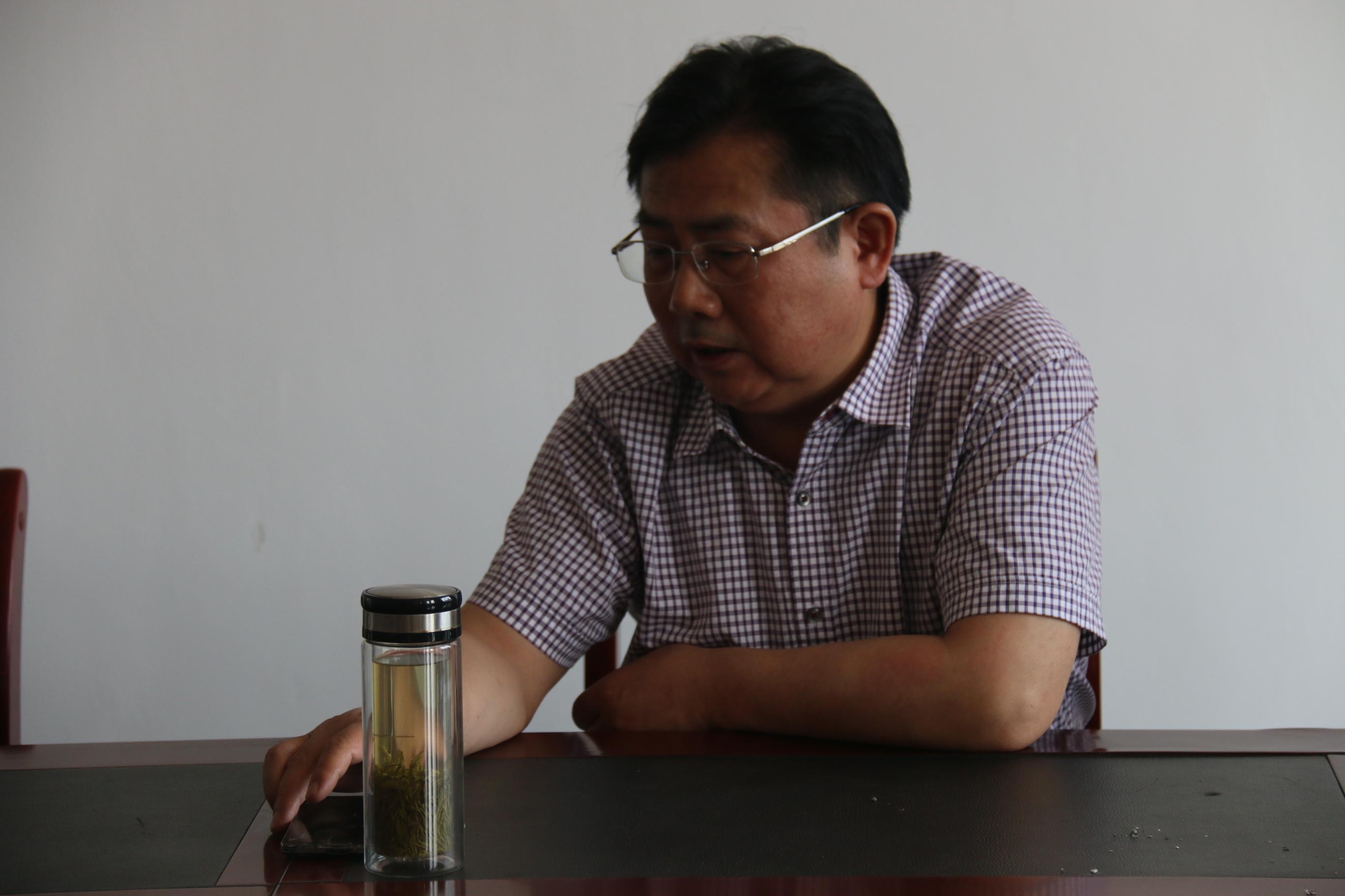 市食药监局程天舒局长调研太湖县基...