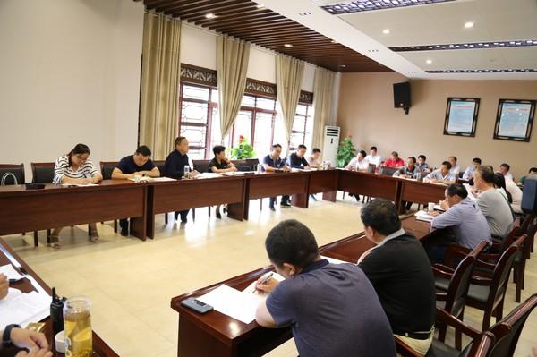 三河镇召开创建国家水利风景区迎检接待调度会