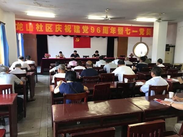 龙山社区召开庆祝建党96周年暨七一党员大会1.jpg
