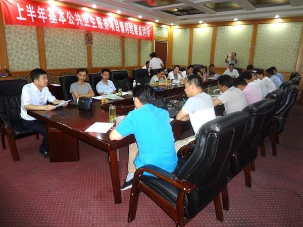 望江县召开2017年上半年基本公共卫生服务督导结果点评会