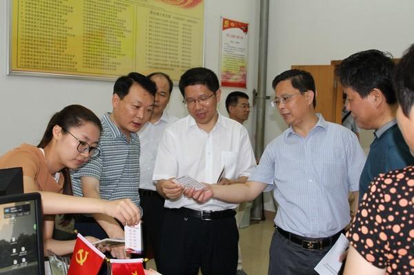 省委组织部组织指导处调研肥西基层党建工作