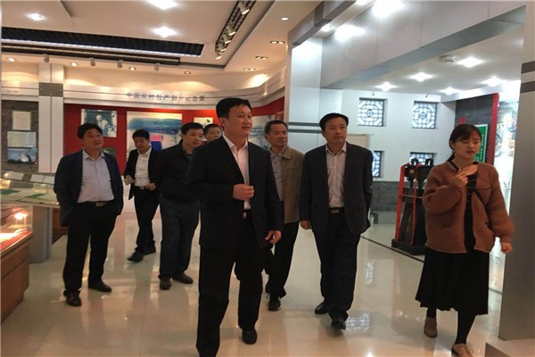 县委常委、组织部长郜志华到山南调研基层党建工作