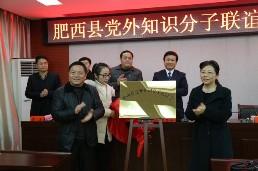 肥西县党外知识分子联谊会正式成立