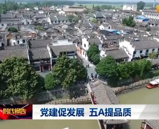 肥西县三河古镇:党建促发展 五A提品质