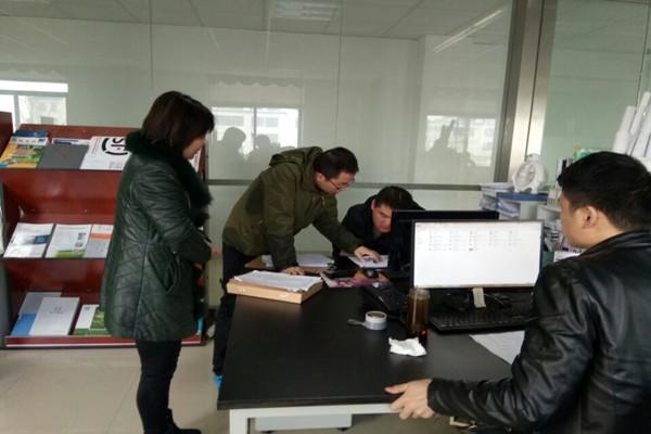 肥西县紫蓬镇:非公企业党建指导员入企忙摸底登记.jpg