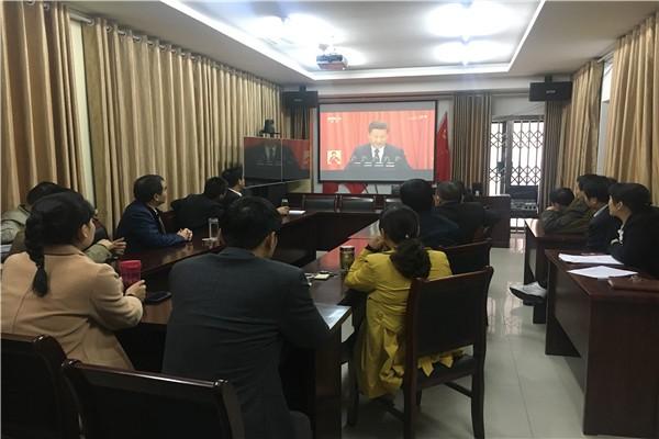 肥西县经信委多措并举全面学习领会党的十九大精神.jpg
