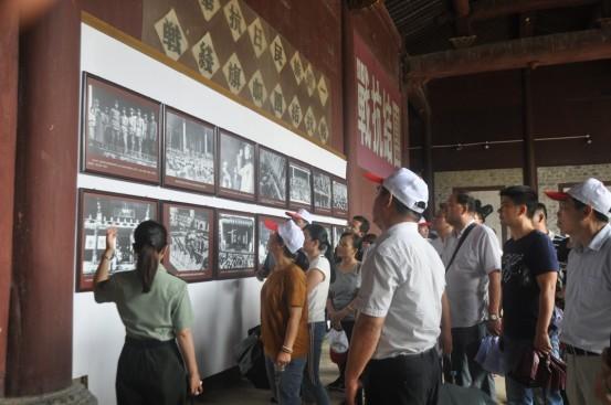 县国土局党员干部赴泾县红色教育基地参观学习