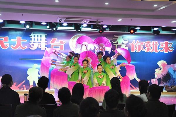 """肥西县""""市民大舞台·想秀你就来""""举办首场月赛"""
