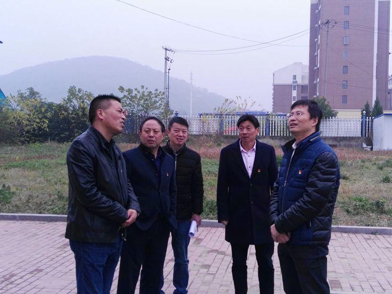副局长张华来校调研校园建设