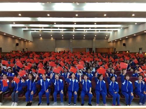 市中学生实践基地快闪唱响红色主旋律