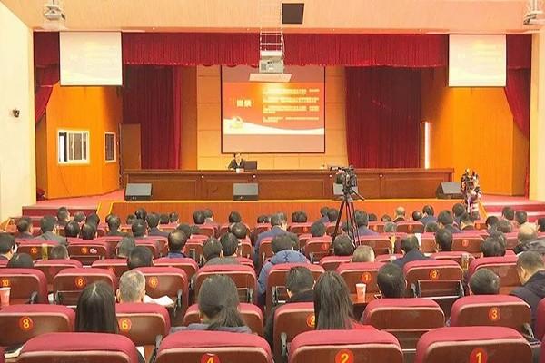 学习贯彻党的十九届四中全会精神市委宣讲团报告会走进肥西县