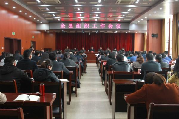 肥西县组织工作会议召开