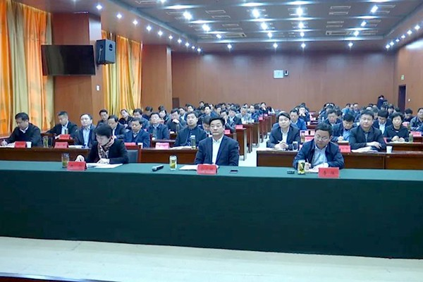 肥西县组织收听收看全省扶贫开发工作会议
