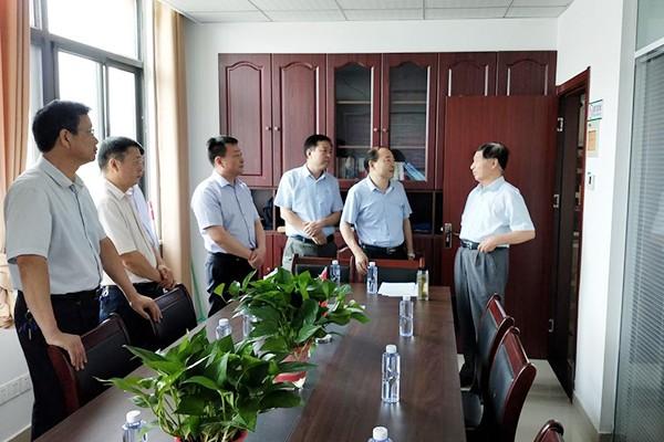 省、市委组织部到肥西县调研指导老干部工作