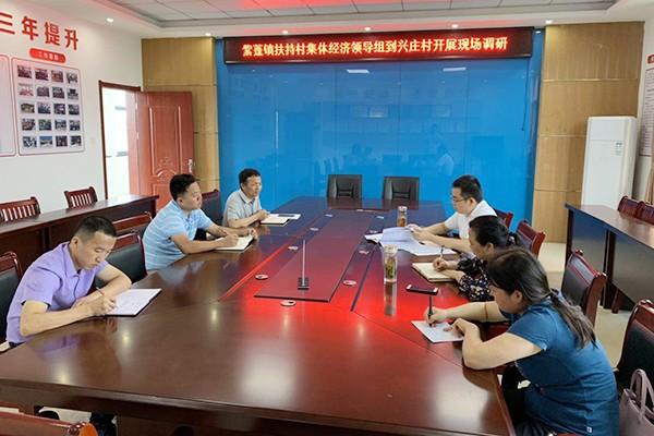 """肥西县紫蓬镇""""一线工作法""""助力村级集体经济发展壮大"""
