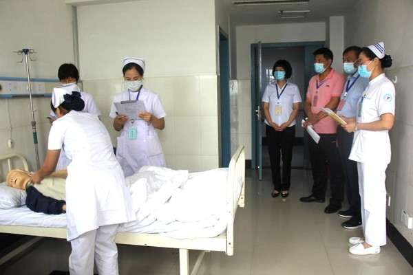 太和县举办第一届护理技能大赛