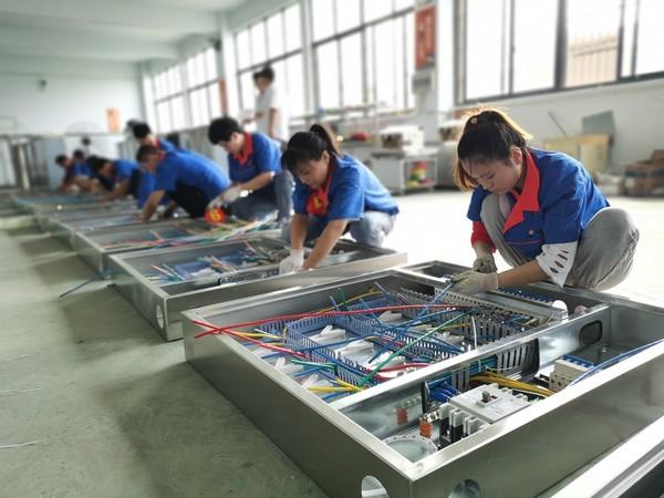 太和县成功举办电气业职工劳动技能大赛