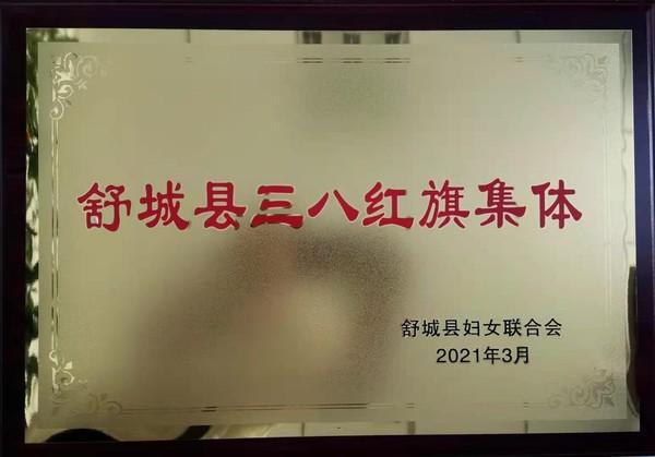 """我院护理部荣获""""舒城县三八红旗集体"""""""