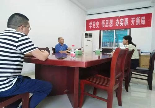 县委副书记张圣涛调研红十字工作