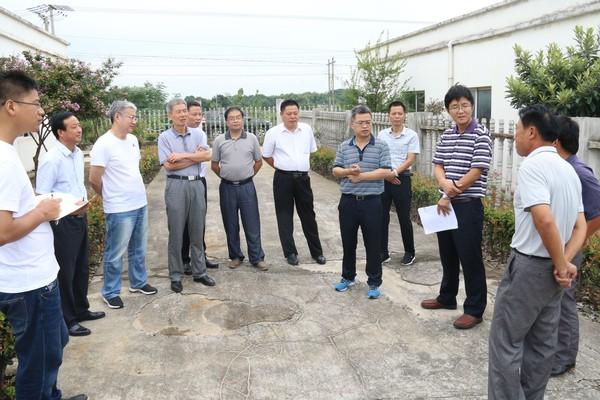 水利部农水司调研我省农村饮水安全工程运行管理