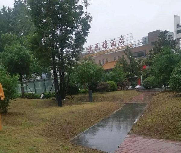 陈村路社区居民反映海亮游园脏乱差问题,图为整改后的路面.jpg